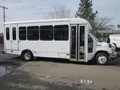 Ford 2011 E450 10 Cylinder 68 liter Gasoline 18 passenger bus with power steering power ABS brak