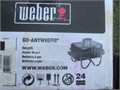 NEW WEBER Portable Propane Tabletop BBQ NEWMINT CONDITION NEVER USED pushbutton electronic ign