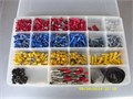 Wire crimp connector assortment About 1000 pieces 30 Ratcheting crimper tool 10 909-983-7427