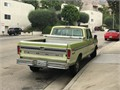 1975 Ford F250 Salvage 50484 miles Private Party Crew Cab 8 Cyl Green Green Fair cond Auto