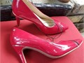 New without box Jones New York Red Pump Size 65 width M heel height approx 35 pointed toe