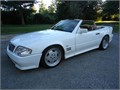 very rare 1991 Mercedes-Benz SL500 AMG with factory AMG Aero kit and 3 piece AMG wheels new seats