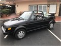 1987 Volkswagen Cabriolet Convertible 5speed Manual Transmission 135000 Miles Garaged Passed