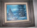 4 OIL PAINTINGS with frames  15 x 17  1500 each  562 761-7808