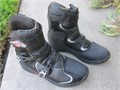 Fox MX  ATV motocross shorty boots mens size 13 almost in MINT CONDITION the plastic on the buckl