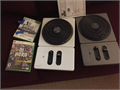 Xbox 360 DJ Hero and Hero 2 games with turntables 6000 814-472-5711
