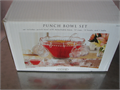 Punch Bowl Set New Set Includes Punch Bowl With Detachable Base 12 Cups 12 Hooks and 1 Ladle 1