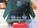 Coleman Model 425 2 burner pump up liquid fuel stove not a propane one it was my dads and he used