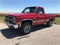 1983 Chevrolet Silverado K1500 K10 4x4 Shortbed This truck starts runs and drives just as it shou
