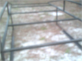ladder Rack for Full size Truck single cab 8 Foot bed Solid Steel Over the cab Original Cost was 1