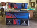 Rock-Ola jukebox  Have an extra set of 45s   Great for game rooms  Coin collector works 35000