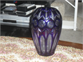 GORGEOUS     FAMOUS   BLUE  CRYSTAL  VASE     Call 818 554-5901   Ask  for   TONY