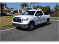 2008 Toyota Tundra Used 147000 miles Custom Running boards w LEDs  57 LWhite Gray Good con