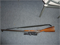 CVA DOUBLE BARREL RIFLE Express 50cal with scope collector item fully parkerized great condition 7