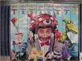 Pee-Wees Playhouse boxed set of eight 8 VHS videocassettes  Each cassette contains two of Paul R