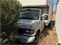 2006 Ford Super Duty Ford E450 Box Truck Automatic Front and back AC 17 Box above cab great runni