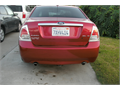 2009 Ford Fusion SEL Used 104000 miles Private Party Sedan 6 Cyl Red Gray Excellent cond Au