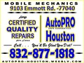 Engine  Transmission  Electrical  Mechanical  Diagnosis  Repair and Rebuild serving Houston Har