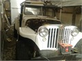 Willys Jeepster converted to 4 wheel drive with AMC 327 V8 motor and automatic transmission C