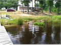 Edgefield SC 30 acres with 3acre STOCKED POND 2bd 2bth MH W well Septic and power Large covere