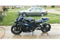 2006 Suzuki GSX-R only has 9k miles has been lowered and stretched  2 brother exhaust runs awesom