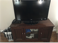 Excellent Condition TV Stand for sale Call John if you have any questions