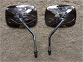Harley-Davidson Live to Ride mirror set - Chrome 4000 814-472-5711