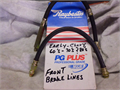 Set of early Chevy 60s -70s front brake lines 2500 Call before 9 PM 2500 310-837-2475