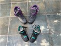 Excellent condition Mens size 10 12 50 Womwns size 6 40 Will sell separately