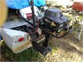 Briggs and Stratton 4 stroke air cooled outboard Runs great but needs a prop uses 12 gallon gas p