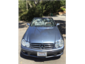 2006 MBZ CLK 500 convertible - only 72K milesblue extgray lthr int pristine condition 12500