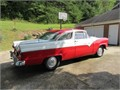 1955 Ford Crown Victoria Updated several years ago with low mileage 302 V8 AT and disc brakes al