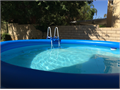 New 15 ft x 48 in Round Easy Set Above Ground Pool purchased new used six weeks GREAT DEAL at