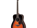 Yahama FG-730S acoustic guitar Plays and sound great Includes is a durable soft foam lined case