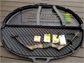 Browning compound bow Spectrum III 28-30 Draw 5070 weight Hard case and shown accessories inc