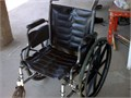 I am selling a used wheel chair in good working condition wheels are good and no rips in the seat