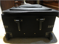 THIS IS AN EXCELLENT CONDITION AMBER LUGGAGEDIMENSION  SIZE  20 X 32 HEAVY DUTY USED ONLY O