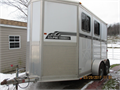 2009 Eclipse 2 Horse aluminum slant load trailer with tack room in excellent condition 850000 81