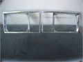 1978 TO 1979 EL CGMC CABALLERO MALIBU Front head light bezels  This set is very clean and very rar