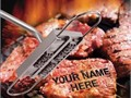Personalize your steaks and burgers with your name or a special message with this BBQ Branding Iron