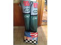 Dale Earnhardt Jr 88 Amp Energy folding camp chairs with cup holders in their original bags 1