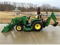 2004 JOHN DEERE 4310 4X4 TRACTOR LOADER BACKHOE Mid Mower Nice Low hours
