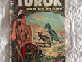 No 596 1954 FIRST APPEARANCEThis comic features the first appearance of Turok and Andar Picture