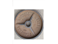 Weight Cast Iron- Standard Barbell Weight 35 pounds Pic online 1500 951-247-7216