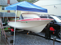 1962 Starcraft Runabout 14 boat with new trolling motor battery floor  seats  Newly painted Ti