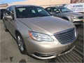 2013 Chrysler 200 Used 58635 miles Dealer Sedan 6 Cyl Gold Cream Good cond Auto FWD 4 Doo