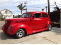 Selling  car for a friend 1937 ford slantback all ford and steel body 8 rearend mustang two a