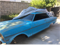 For sale 1963 Chevy II Nova body plus trim and instruments No engine transmission or running gear