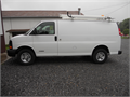 2005 Chevrolet Express Van 2500 34 ton  V-8 auto ac cabinets ladder rack good cond  69000 miles wa