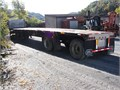 1999 Transcraft flatbed spread-axle trailer  Good title  Call Bill at 423-646-7881
